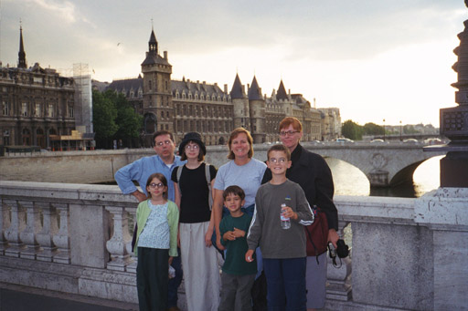 The Zambettis and Hamiltons in Paris